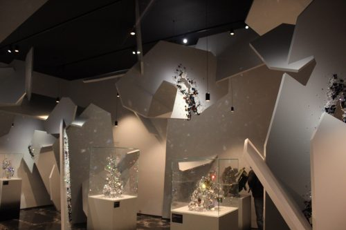 Museu no Swarovski Crystal Worlds