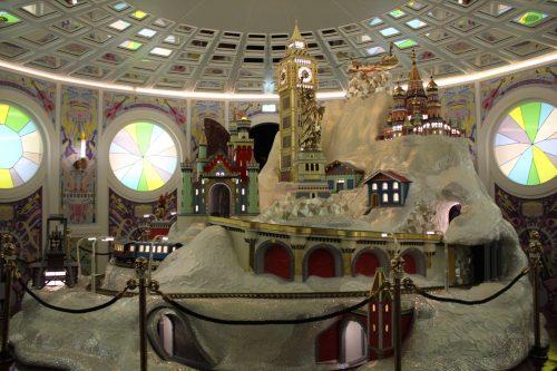 Mundo dos cristais Swarovski na Áustria