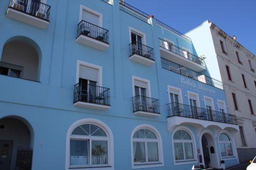 Frente do hotel Relais Maresca em Capri