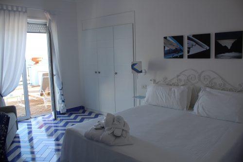 Quarto do Relais Maresca em Capri