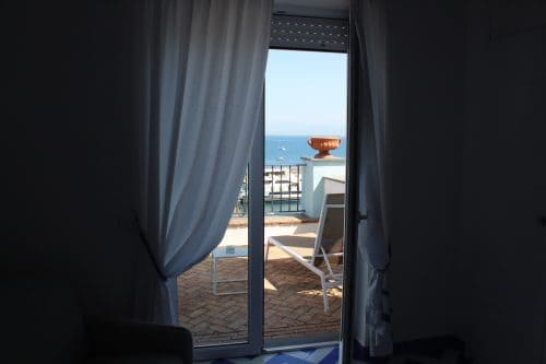 Interior do Relais Maresca em Capri