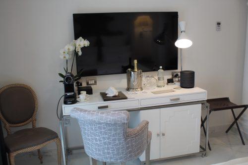 móveis do quarto no Villa Franca Positano