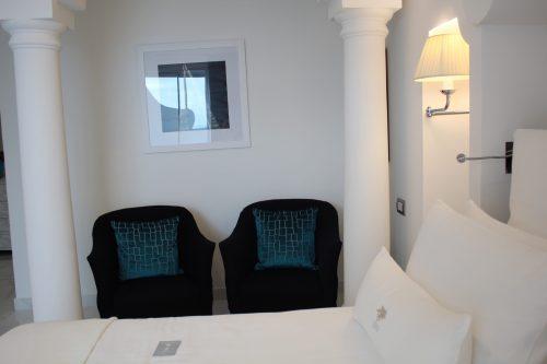 Quarto do hotel Villa Franca Positano
