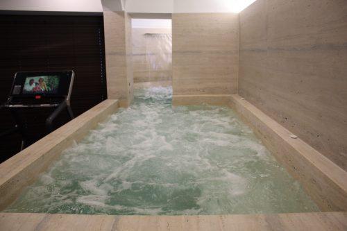 Banho turco no spa dentro do Villa Franca Positano
