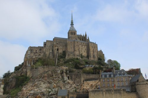 No complexo Monte Saint-Michel