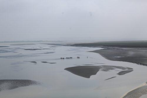 Areia movediça na Normandia