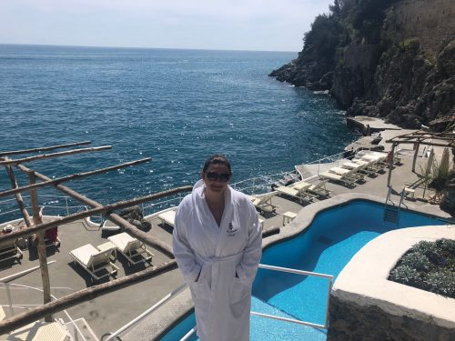 lazer do hotel Santa Caterina em Amalfi