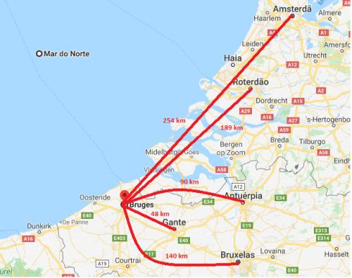 Como visitar Bruges