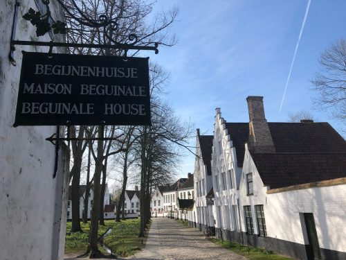 Casas do Beguinage em Bruges