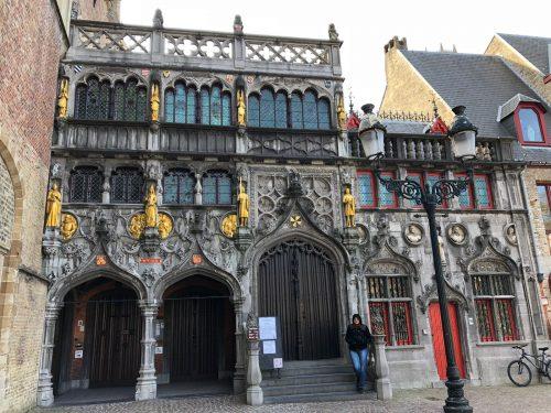 Basílica do Sangue Sagrado em Bruges