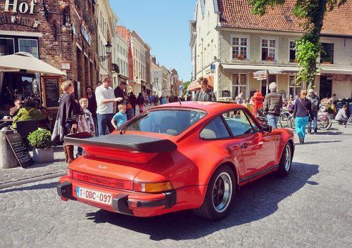Viagem de carro para Bruges