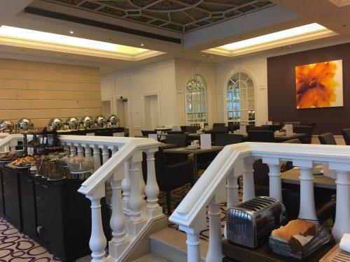 Café da manha no hotel Steigenberger em Bruxelas