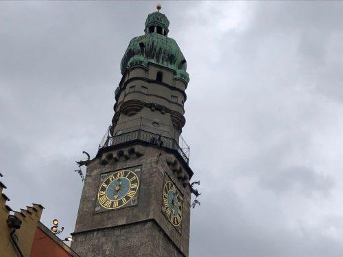 Torre da cidade de Innsbruck