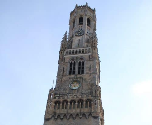 Torre do Campanário em Bruges
