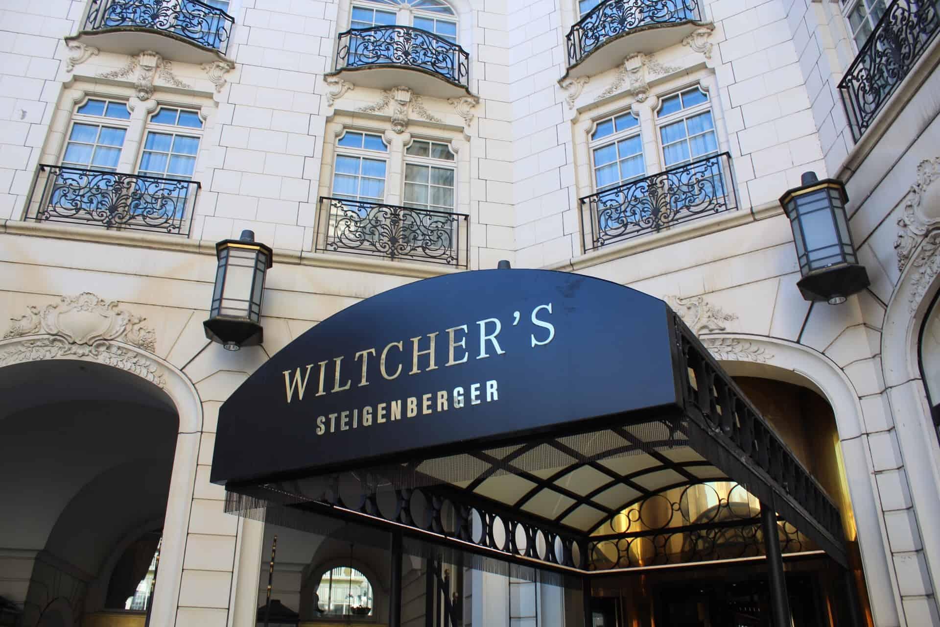 Frente do Steigenberger Wiltcher's em Bruxelas