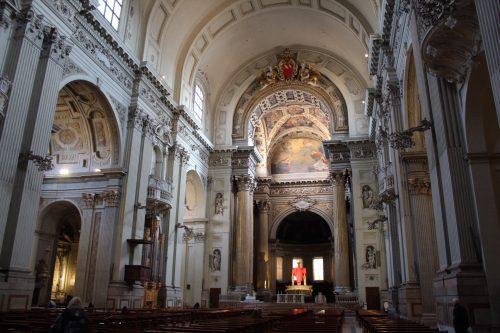 Afrescos da Catedral Metropolitana em Bolonha