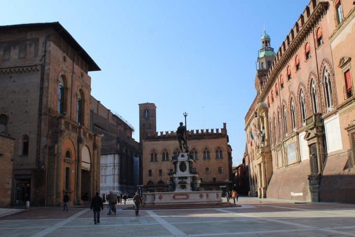 Arquitetura da Piazza del Nettuno