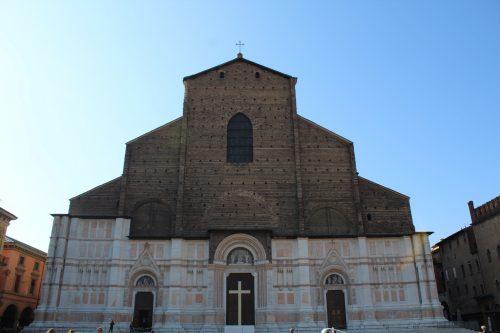 Fachada da Basílica de São Petrônio