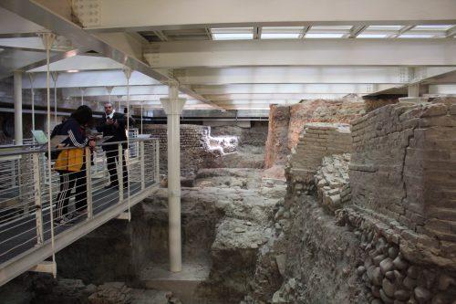 Sítio arqueológico da Biblioteca Salaborsa