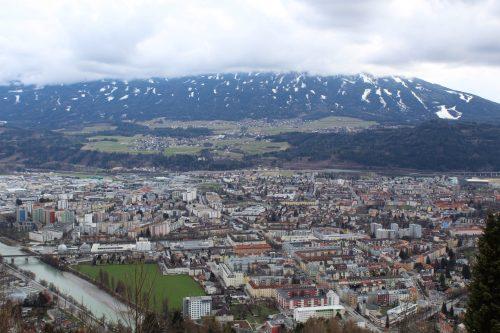 Vista panorâmica de Innsbruck