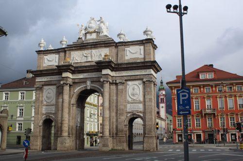 Arco do Triunfo de Innsbruck