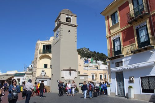 Prédios da Piazzeta de Capri