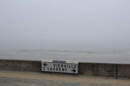 Placa na Praia de Omaha