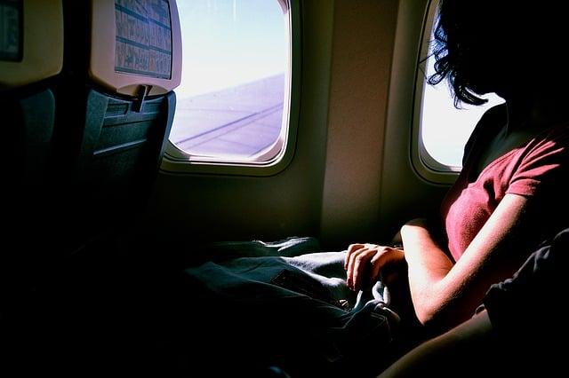 Medo de viajar de avião, onde é melhor sentar