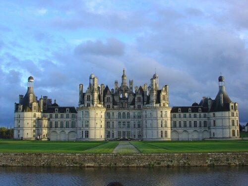 Castelo no Vale do Loire