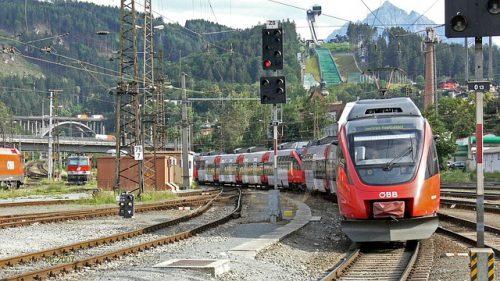 trem para Innsbruck