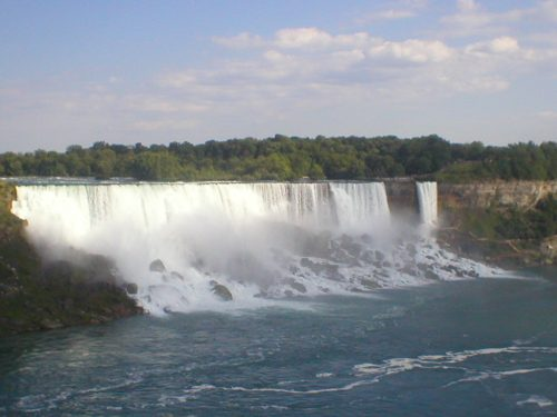 Queda d´água em Niagara Falls
