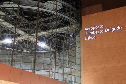 fachada do aeroporto de Lisboa