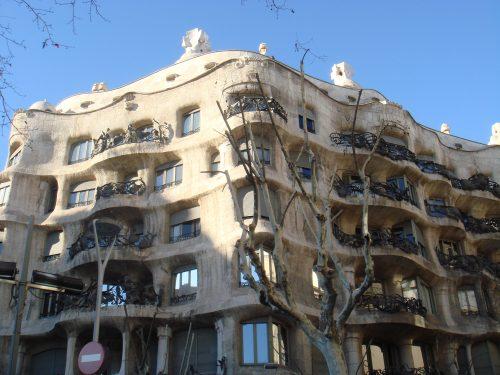 Arquitetura externa da La Pedrera