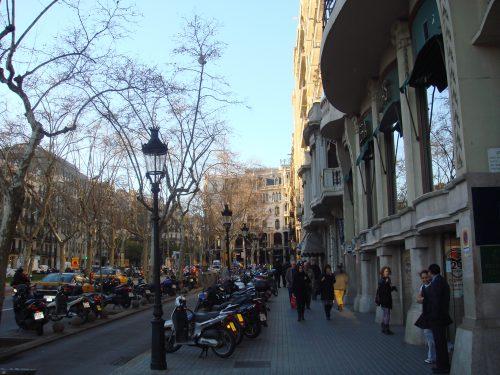 prédios baixos em Barcelona