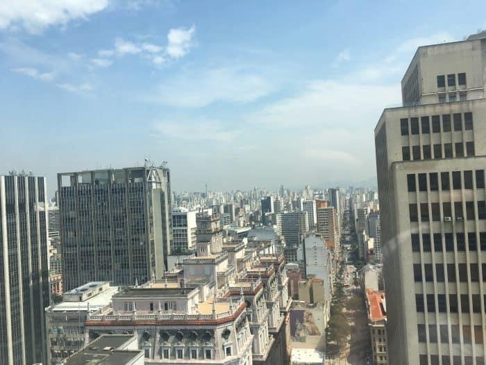 Vista panorâmica de São Paulo