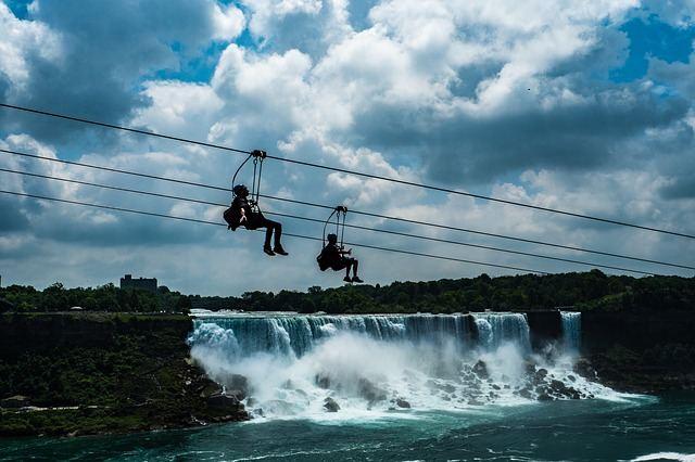 Tirolesa de Niagara Falls