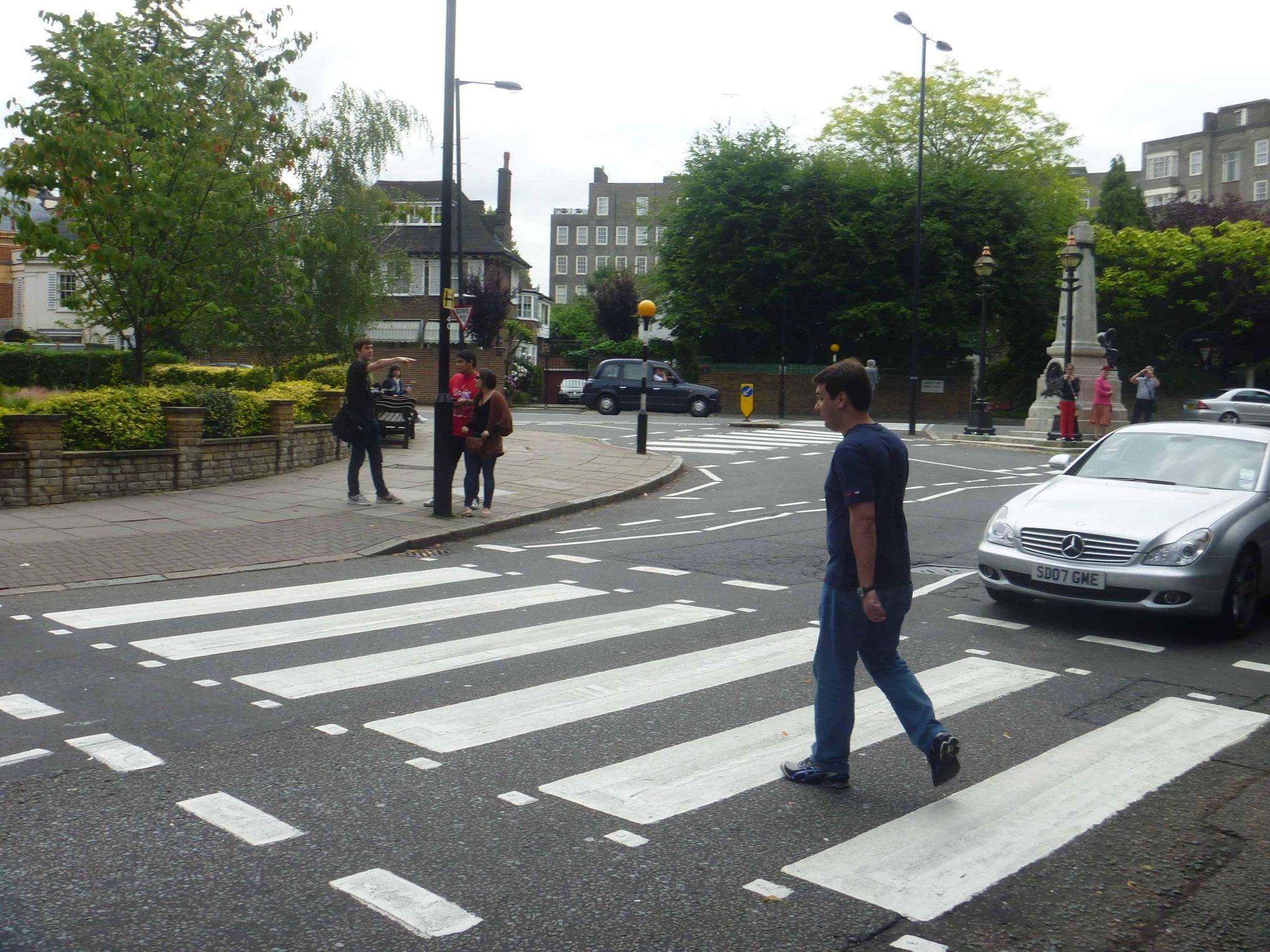 Faixa de pedestres em Abbey Road
