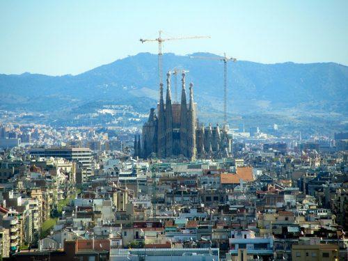 Sagrada Família em construção