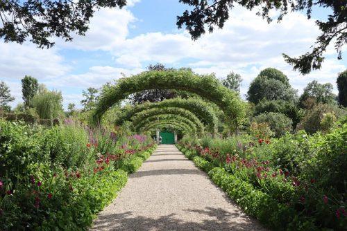 Como é o Jardim de Monet