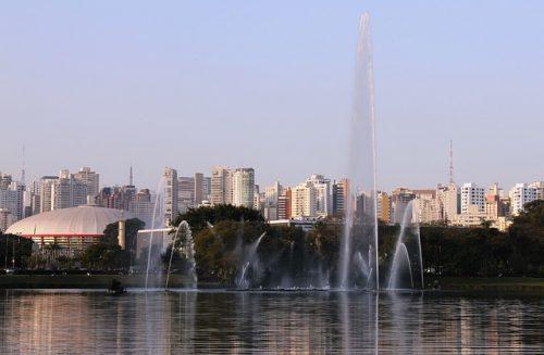 Fonte do Parque do Ibirapuera