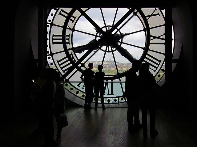 O relógio do Museu d'Orsay