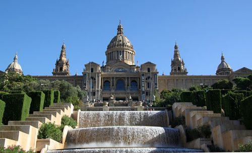 Arquitetura e fontes de MontJuïc