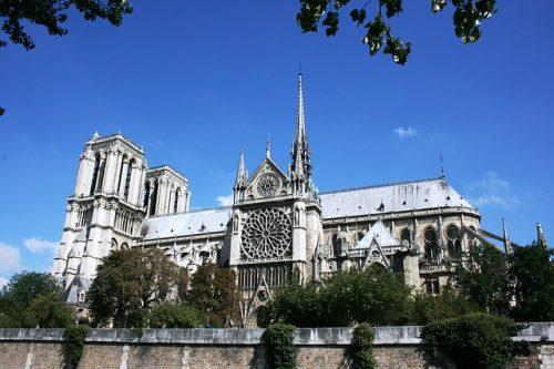 Catedral de Notre-Dame e seus jardins