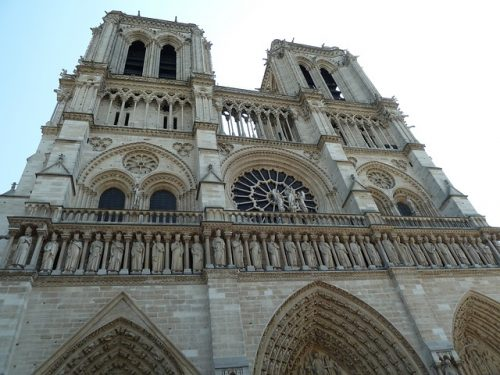 Frente da Catedral de Notre-Dame