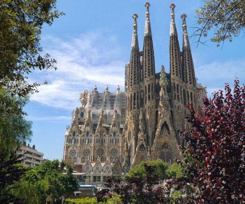 foto da sagrada familia barcelona