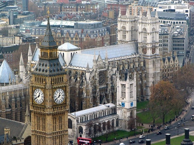 O que fazer em Londres: vista do Big Ben