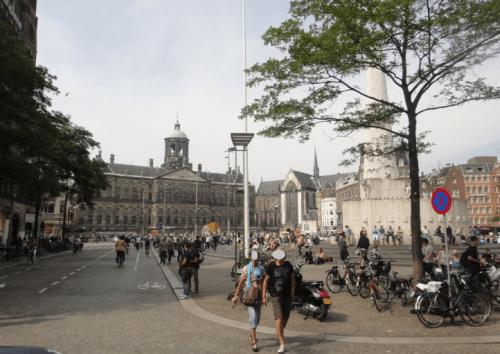 Praça nos Países Baixos