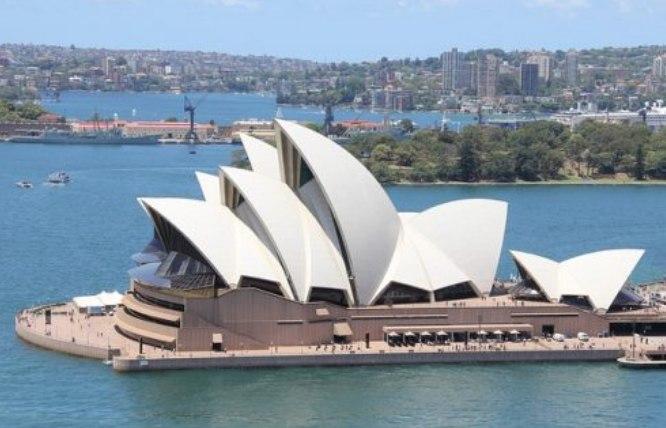 Arquitetura da Opera House, em Sydney