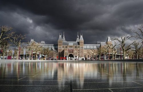 Chove em Amsterdam