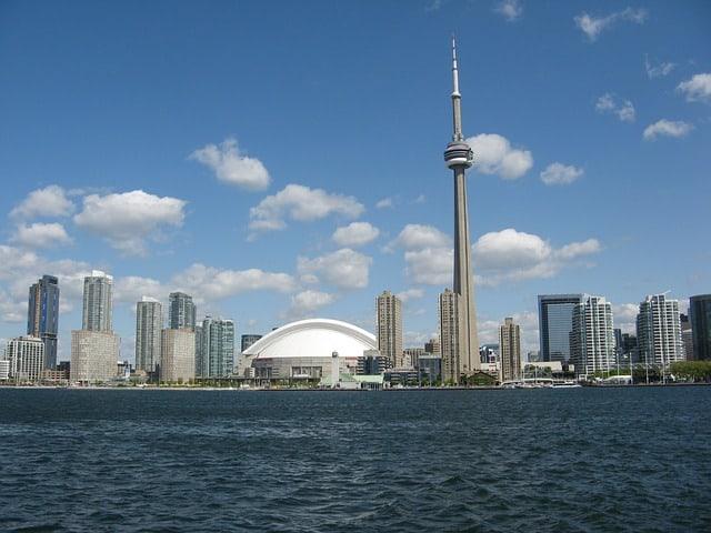 Paisagem com a CN Tower